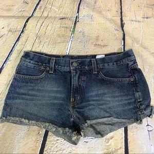 Lucky Brand Dungarees Cut Off Blue Denim Shorts